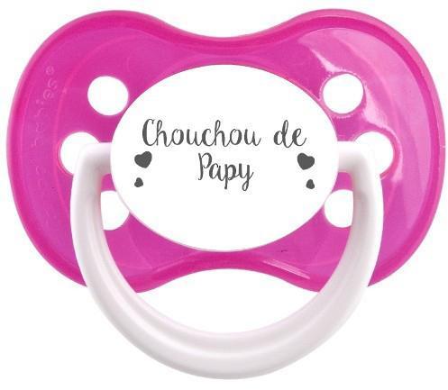 Sucette personnalisée Chouchou de papy