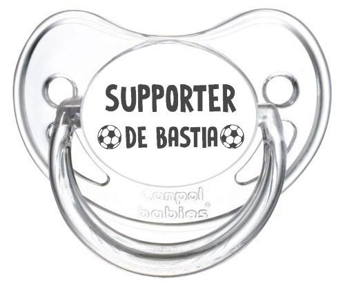 Sucette foot Supporter Bastia