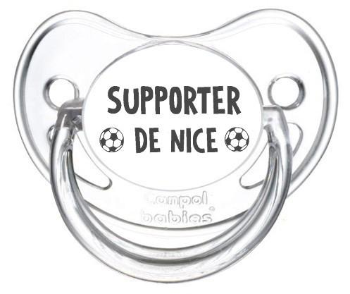 Sucette foot Supporter Nice