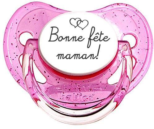 Sucette Bonne fête maman