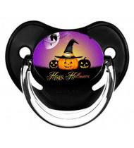 """Sucette personnalisée """"happy halloween"""""""