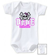 Body bébé Bébé rebelle
