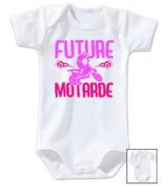 Body bébé Future motarde