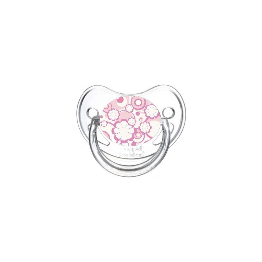 Sucette de bébé fleur violette