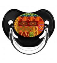 Sucette de bébé fleur africain 2