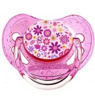 Sucette de bébé fleur multicolors