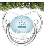 Sucette personnalisée Christmas Rennes