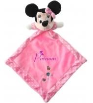 Doudou personnalisable Minnie fleurs