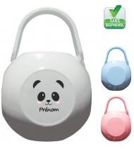 Boîte à Sucette personnalisée Panda fille Prénom