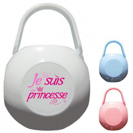 Boîte à Sucette personnalisée je suis une princesse
