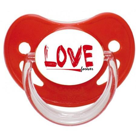 Sucette personnalisée Love forever