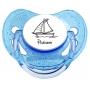 Sucette personnalisée bateau prénom