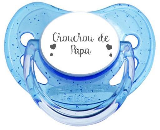 Sucette personnalisée Chouchou de papa