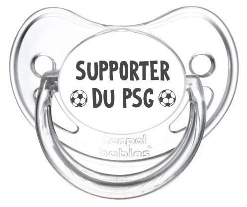 Sucette foot Supporter PSG