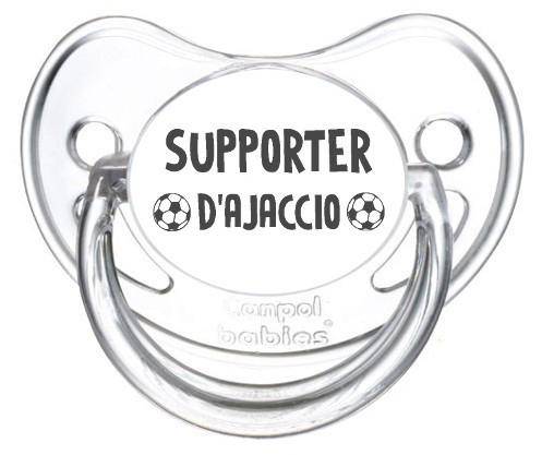 Sucette foot Supporter Ajaccio