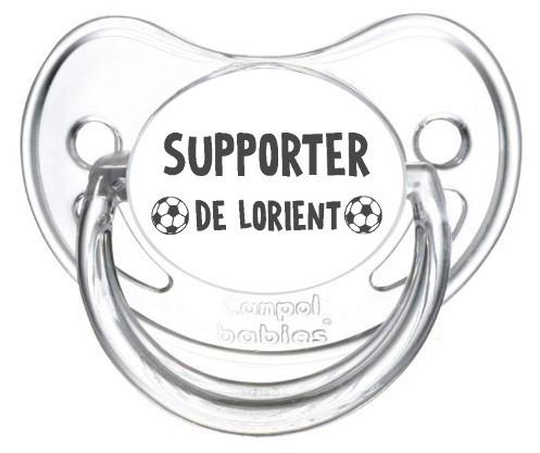 Sucette foot Supporter Lorient