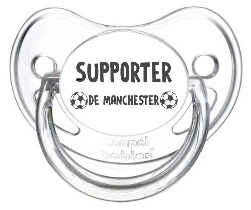 Sucette foot Supporter Manchester