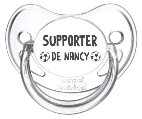 Sucette foot Supporter Nancy