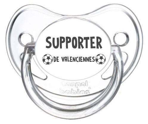 Sucette foot Supporter Valenciennes