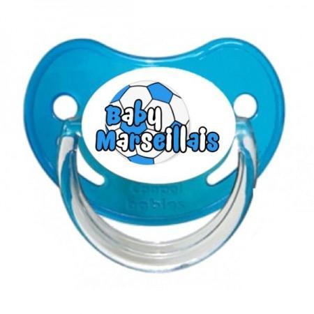 Sucette personnalisée baby marseillais ballon