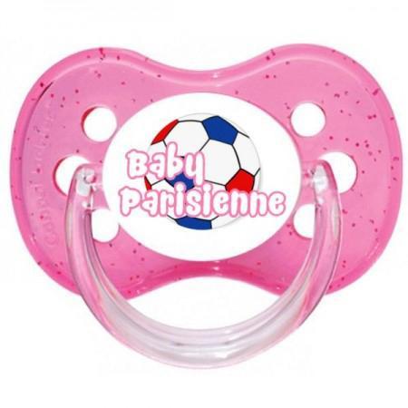Sucette personnalisée baby parisienne ballon