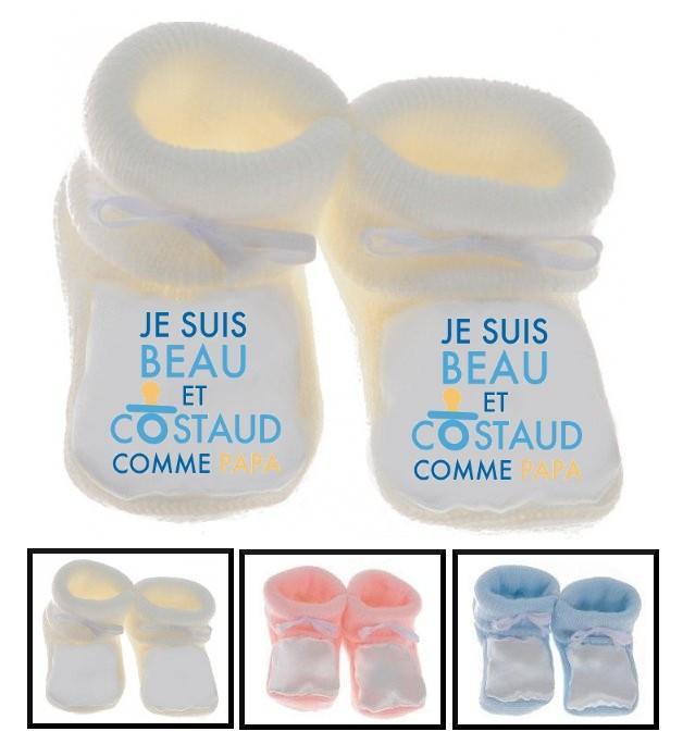 Chaussons bébé Beau et costaud