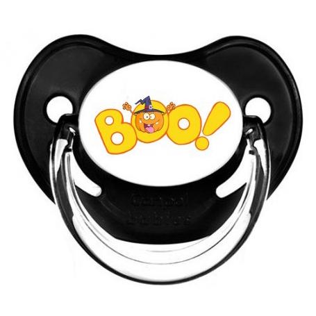 """Sucette personnalisée """"boo"""""""