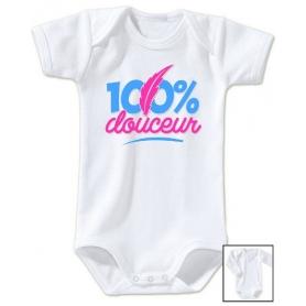 Body bébé 100% Douceur