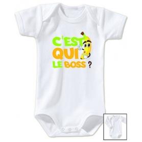 Body bébé C'est qui le boss?