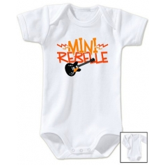 Body bébé Mini Rebelle