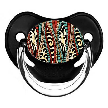 Sucette de bébé africain