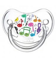 Sucette de bébé musique