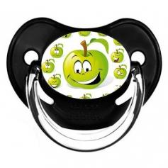 Sucette de bébé pomme