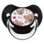 Sucette de bébé oursons