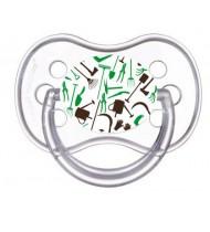 Sucette de bébé jardinier