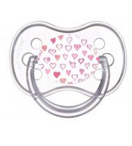 Sucette de bébé petits coeurs