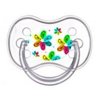 Sucette de bébé fleur multicolors 2