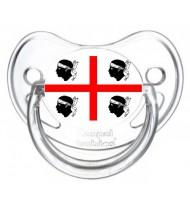 Sucette personnalisée drapeau Sardaigne