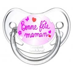 Sucette personnalisée Bonne fête maman