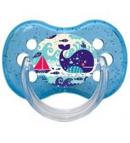 Sucette de bébé baleine bâteau
