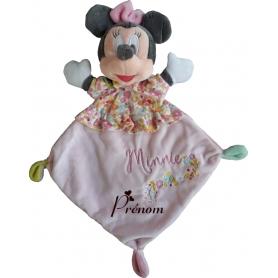 Doudou personnalisable Minnie robe