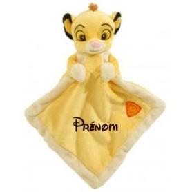 Doudou personnalisable Roi Lion Simba Disney