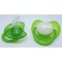 Sucette personnalisée verte fluorescente