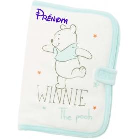 Carnet de santé personnalisable Winnie ourson