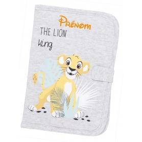 Carnet de santé personnalisable roi lion