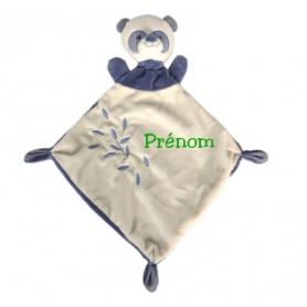 Doudou panda personnalisable
