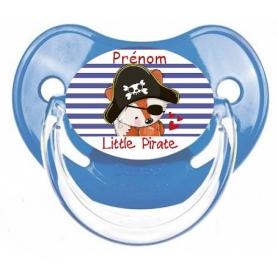 Sucette personnalisée little pirate personnalisée