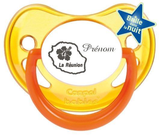 Sucette personnalisée prénom Ile de la Réunion