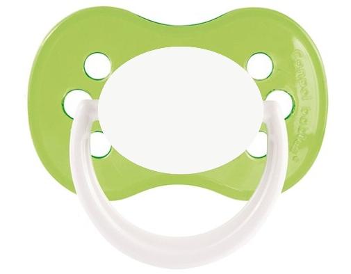 tetine-bebe-continent-HAPPY-vert-cerise